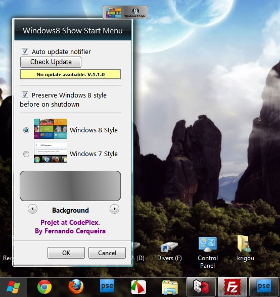 Windows8 StartMenu