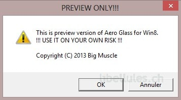 Aero Glass pour Windows 8