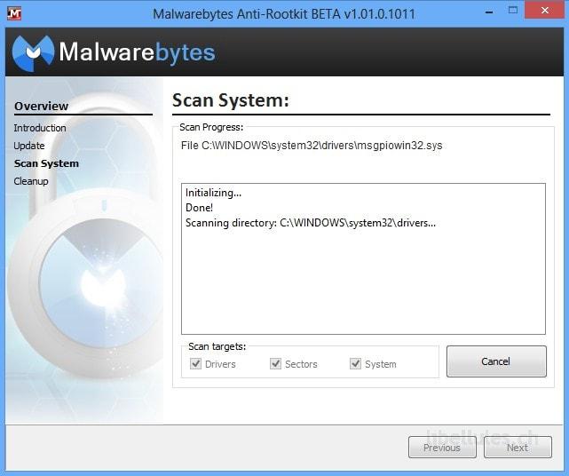 Malwarebytes Anti-Rootkit BETA