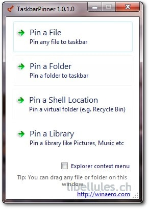TaskbarPinner