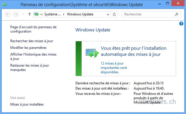 Windows (8) Update Notifier