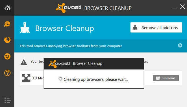 Avast Browser Cleanup