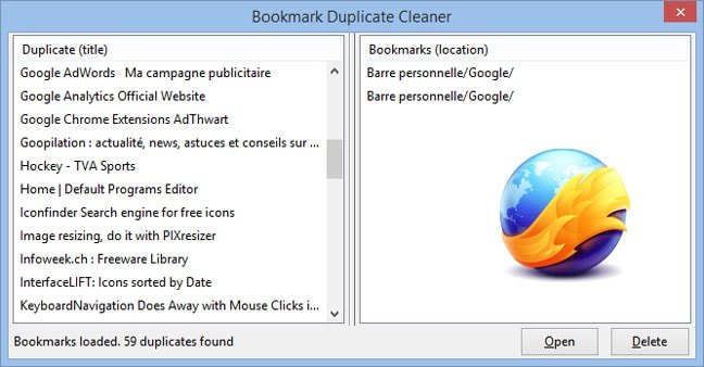 Bookmark Duplicate Cleaner