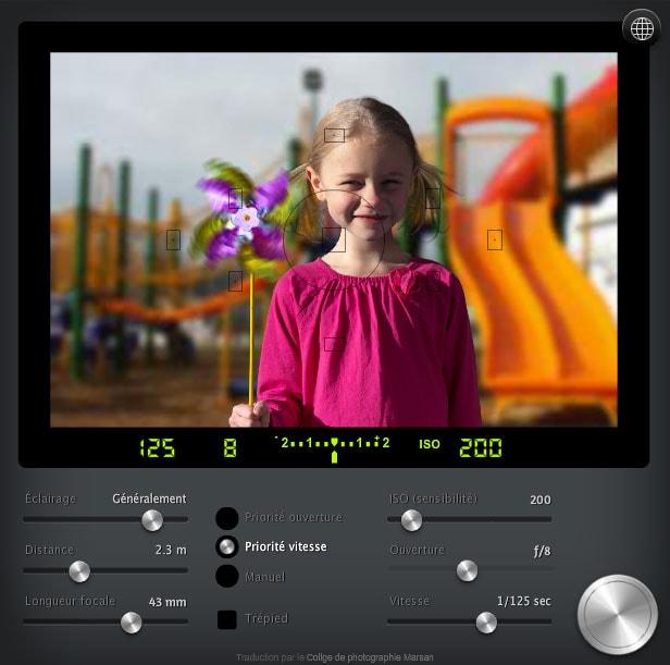The SLR Camera Simulator