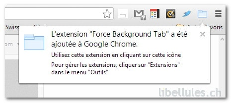 Force Background Tab