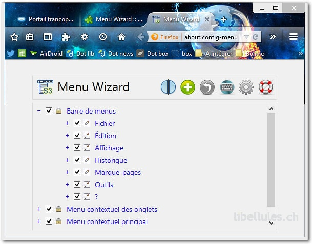Menu Wizard