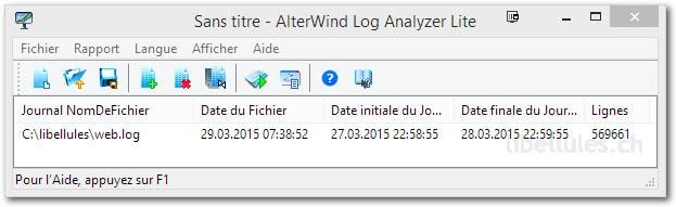 AlterWind Log Analyzer Lite