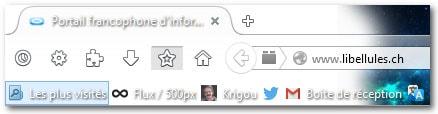 Astuce Firefox : restaurer le marque-page