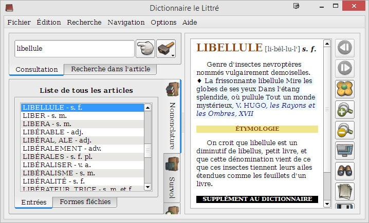 télécharger dictionnaire littré windows