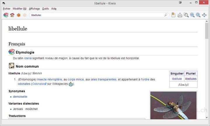 Kiwix, wikipedia hors ligne