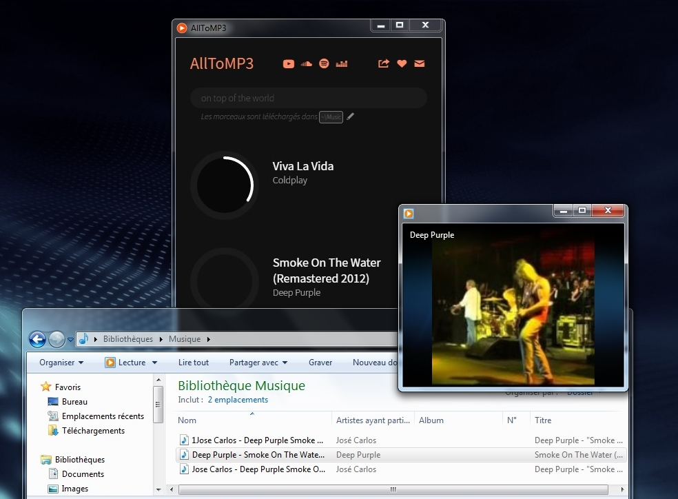 AllToMP3 - convertir YouTube, SoundCloud, Spotify en MP3