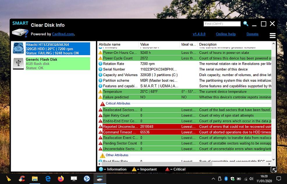 Clear Disk Info - surveillance et information des disques