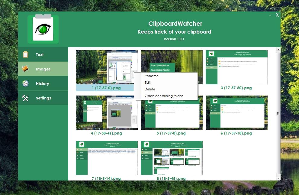 ClipboardWatcher - le surveillant de votre Presse-papiers