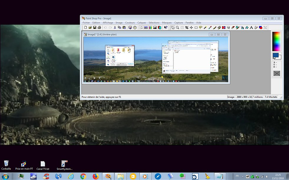 Desktop Movie  /> vidéo en fond d'écran et utiliser Windows