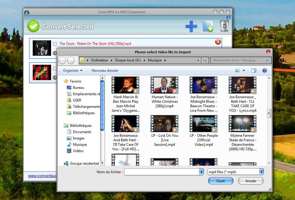 Free MP4 to MP3 Converter - simple convertisseur MP4/MP3
