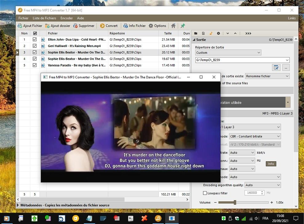 Pazera Free MP4 to MP3 Converter - convertisseur vidéo/audio