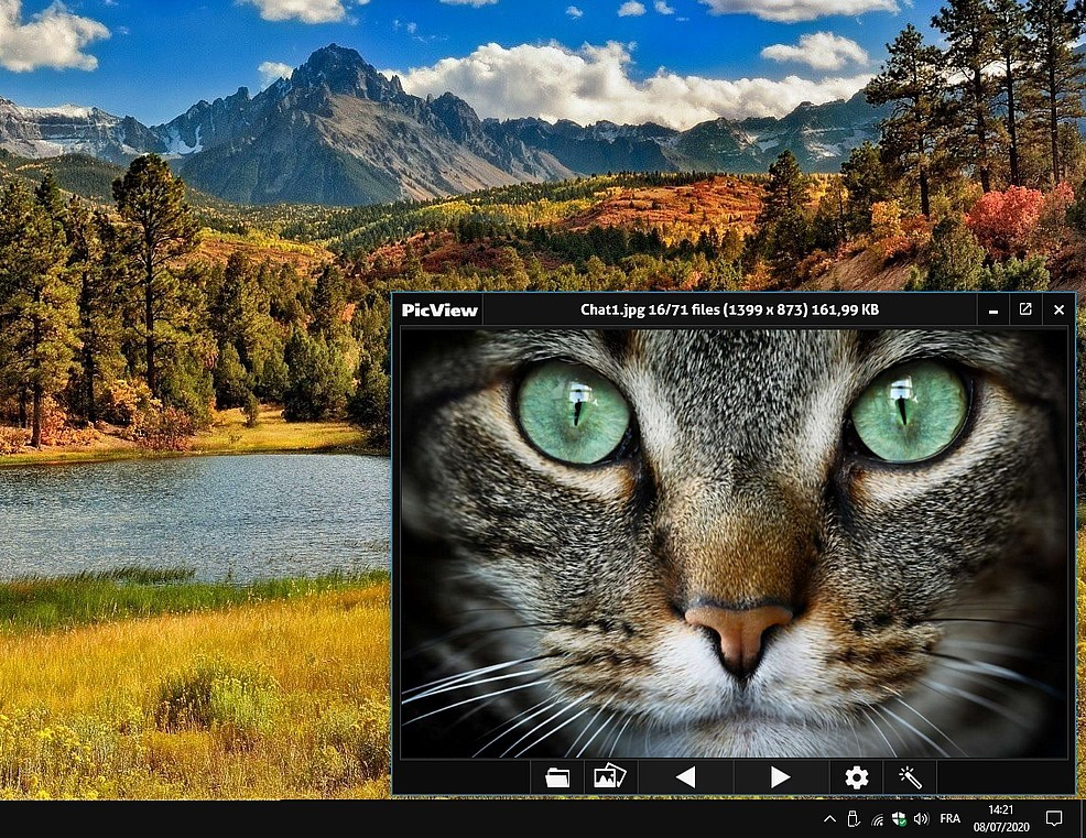 PicView - nouvelle visionneuse et amélioration d'images