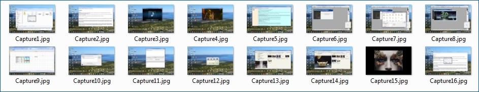 RhythmScreen  /> captures d'écran en rafale, non-stop