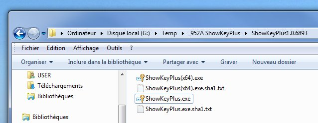 ShowKeyPlus - voir, sauvegarder, vérifier vos clés Windows