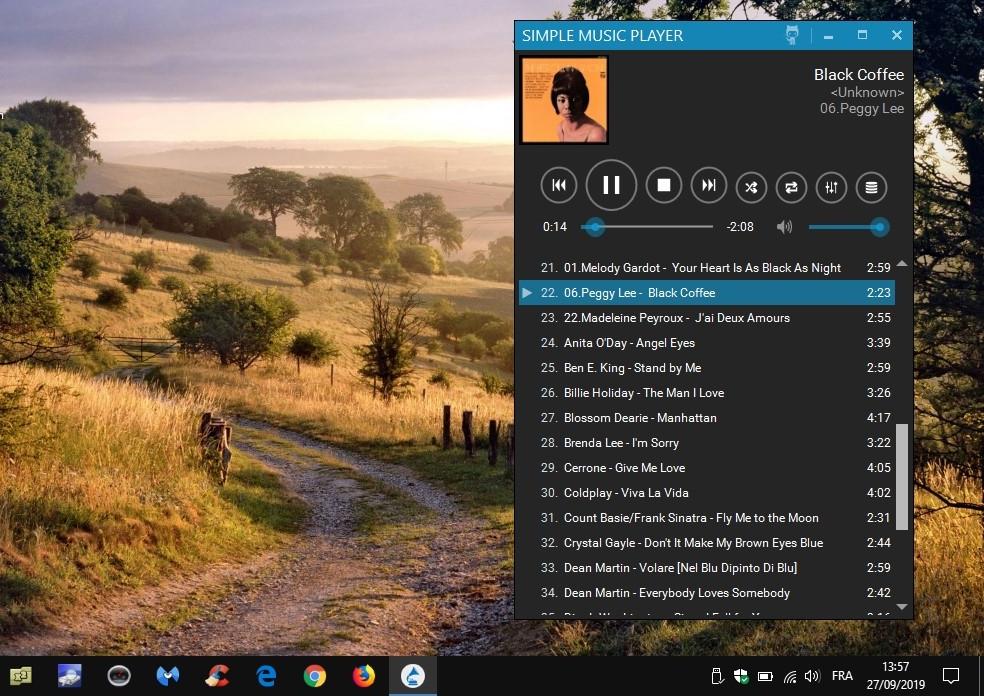 Simple Music Player - lecteur de musique simplissime