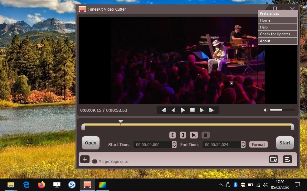 TunesKit Video Cutter - couper, fusionner des vidéos