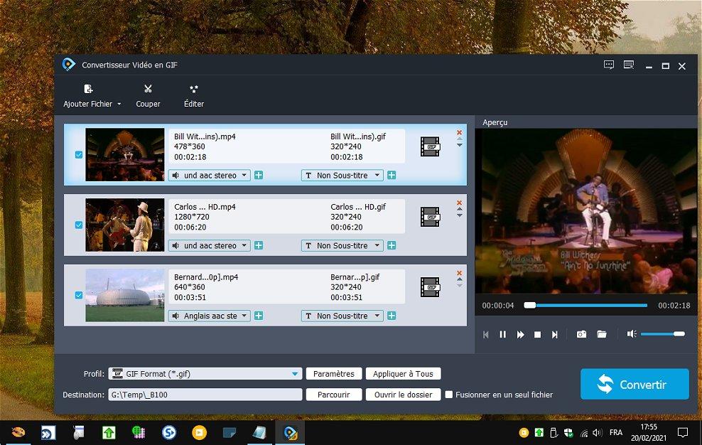 Video to GIF Converter - convertir des vidéos en GIF animé