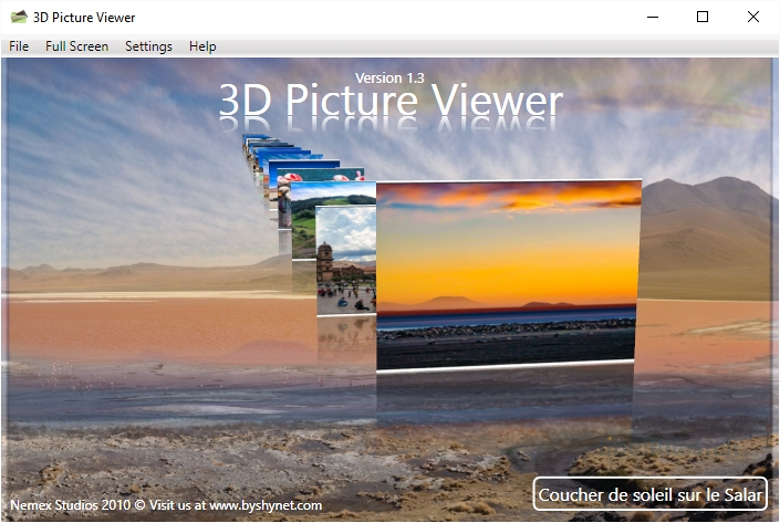 3D Picture Viewer