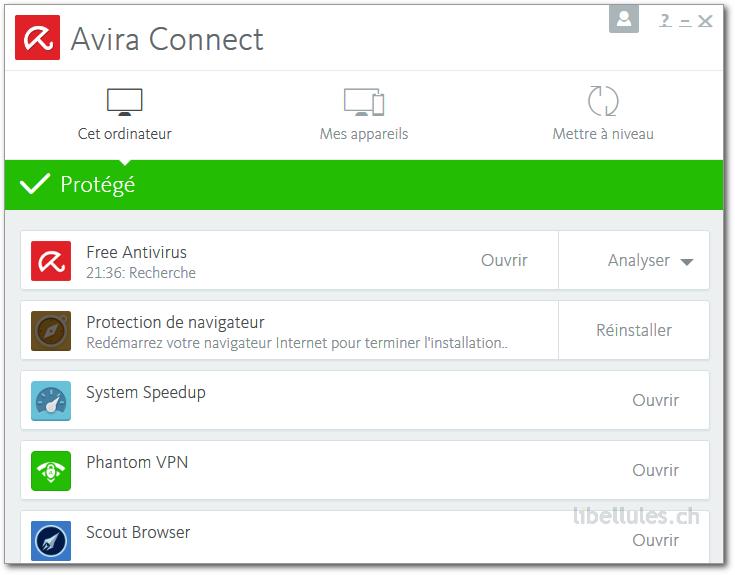 Avira présente sa Free Security Suite