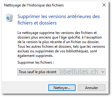 Windows 10 - Comment gagner de l'espace disque (2)