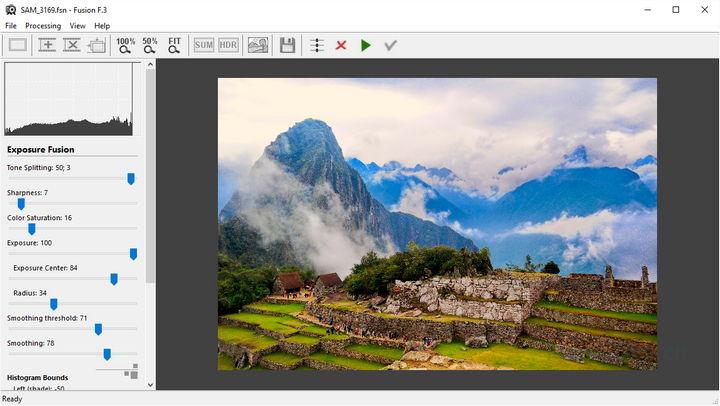 Fusion F.3 - améliorez les détails et augmentez le contraste local de vos photos