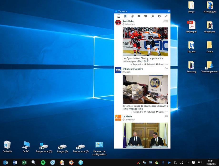 Tweetz Desktop