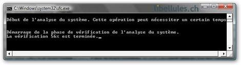 Vista - Réinstaller des fichiers système altérés