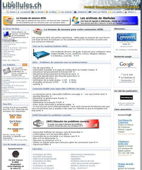 La trousse de secours ADSL